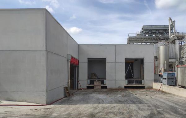 biteco: Construcción nave lavado de contenedores