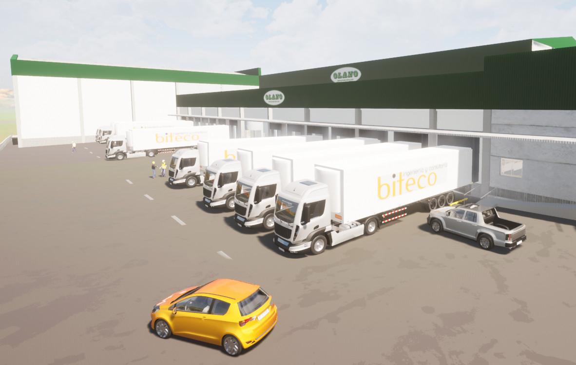 biteco: implantación centro logístico congelados