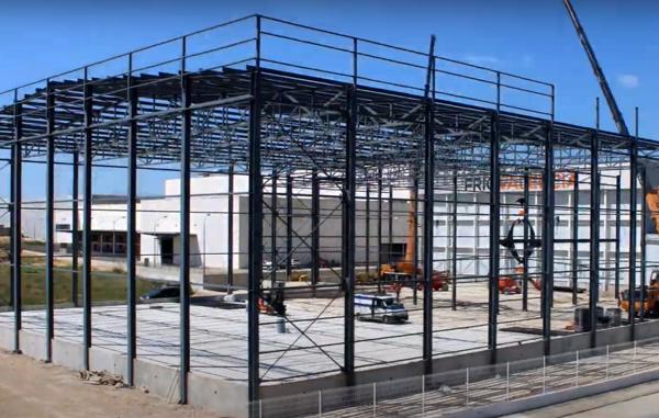 biteco: time lapse construcción almacén congelados en Picassent